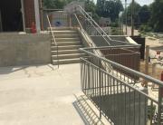 Tuttle Middle School exterior Rails 2014